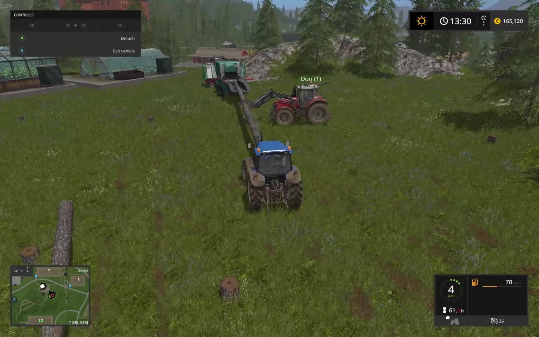 farmingsimulator, Power logging on a budget GIFs