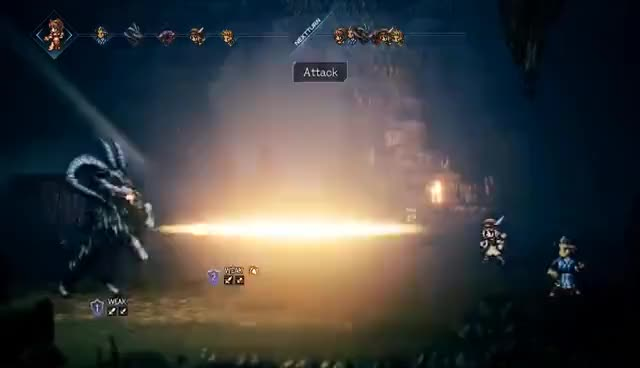 Watch and share Project Octopath Traveler (Working Title) - Nintendo Switch - Nintendo Direct 9.13.2017 GIFs on Gfycat