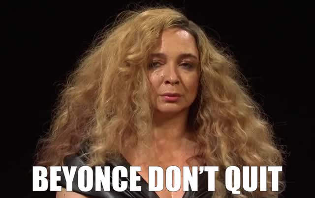 Watch and share Hot Ones With Beyoncé GIFs by Super GIF on Gfycat