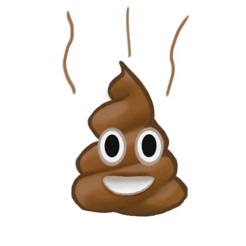 Watch and share Poop Emoji By Lclorschoolproject GIFs on Gfycat