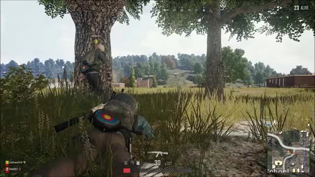Watch savageteammates GIF by @robb83 on Gfycat. Discover more PUBATTLEGROUNDS GIFs on Gfycat