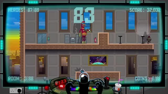 Watch Captain Colossus GIF by Bitmap Bureau (@bitmapbureau) on Gfycat. Discover more 88 Heroes, bitmapbureau, indiegames GIFs on Gfycat
