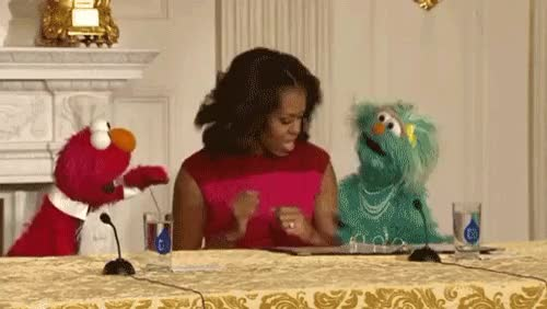 Watch and share Michelle Obama GIFs on Gfycat