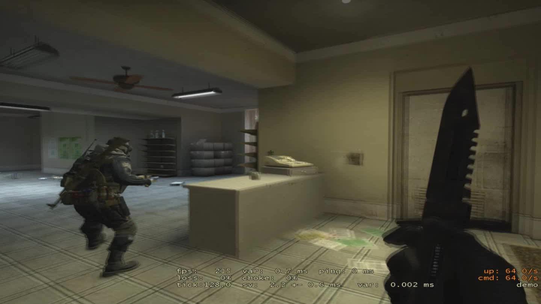 CS, CS:GO, CSGO, Counter Strike, CounterStrike, GlobalOffensive, Tunnel Wallbang on Mirage GIFs