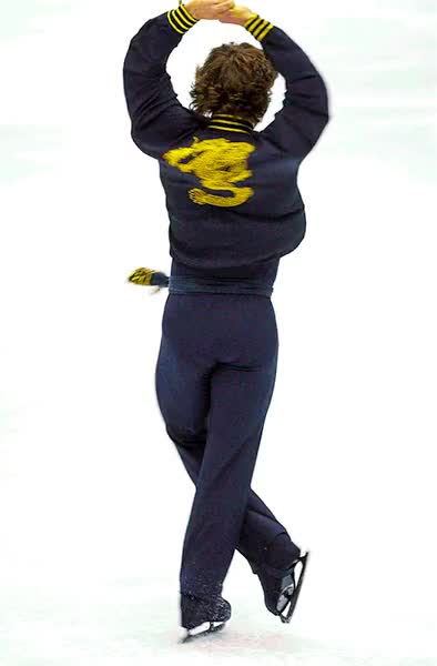 Watch and share Mens Figure Skating, 2002 Winter Olympics, Salt Lake City GIFs on Gfycat