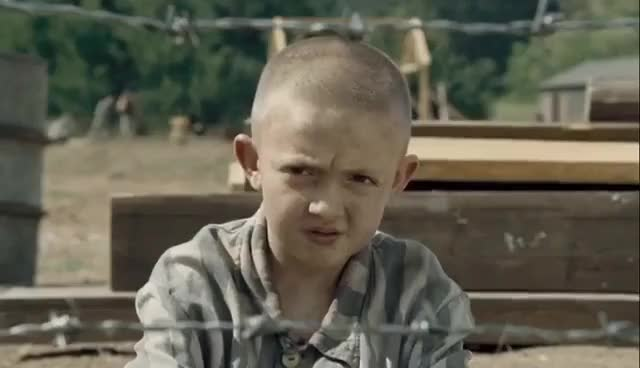 Watch The Boy in the Striped Pajamas | 'I'm a Jew' (HD) - Vera Farmiga, Asa Butterfield | MIRAMAX GIF on Gfycat. Discover more related GIFs on Gfycat