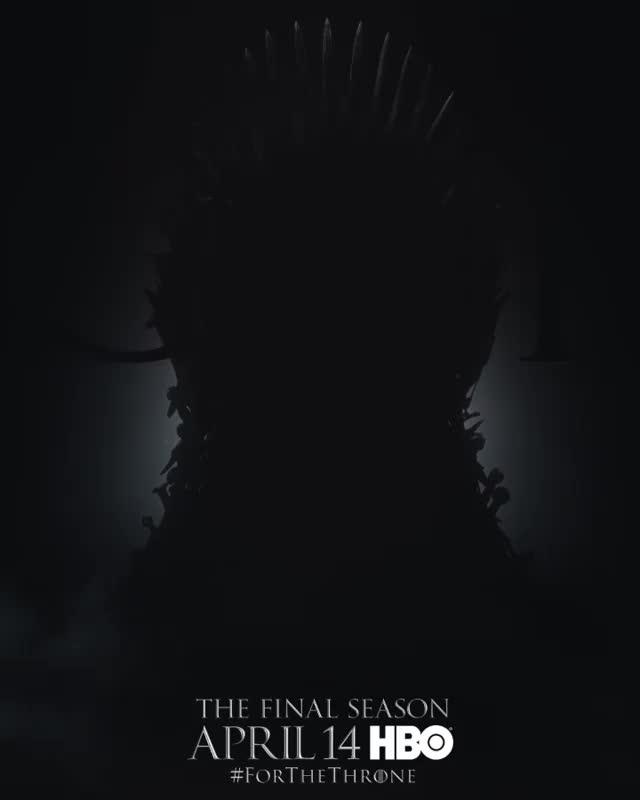 game of thrones, gameofthrones, hbo, season 8, television, Game of Thrones Season 8 Characters Posters GIFs