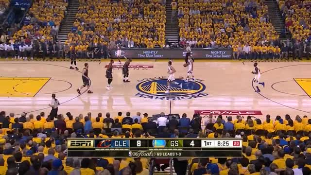 Watch and share LeBron James Breaks Up Lob - 2016 Finals Game 2 GIFs by whitehops on Gfycat