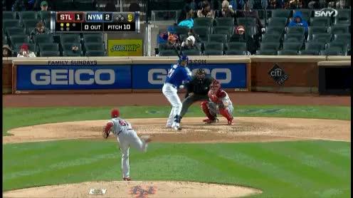 Watch and share Mets First Baseman Lucas Duda Crushes A Home Run To The Shea Bridge (GIF) GIFs on Gfycat