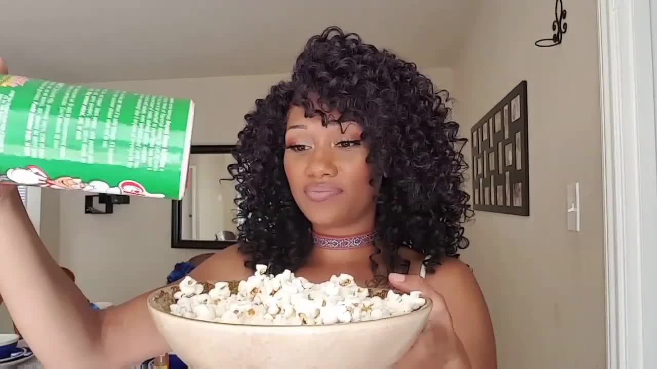 popcorn, Hot Sauce, And Seasoning On POPCORN🤢🤢😝 (TRYING IT YOUR WAY) GIFs