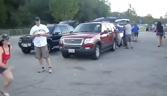 Watch victory chest bump GIF on Gfycat. Discover more chest bump, chick, pre gaming, tailgating, winning GIFs on Gfycat