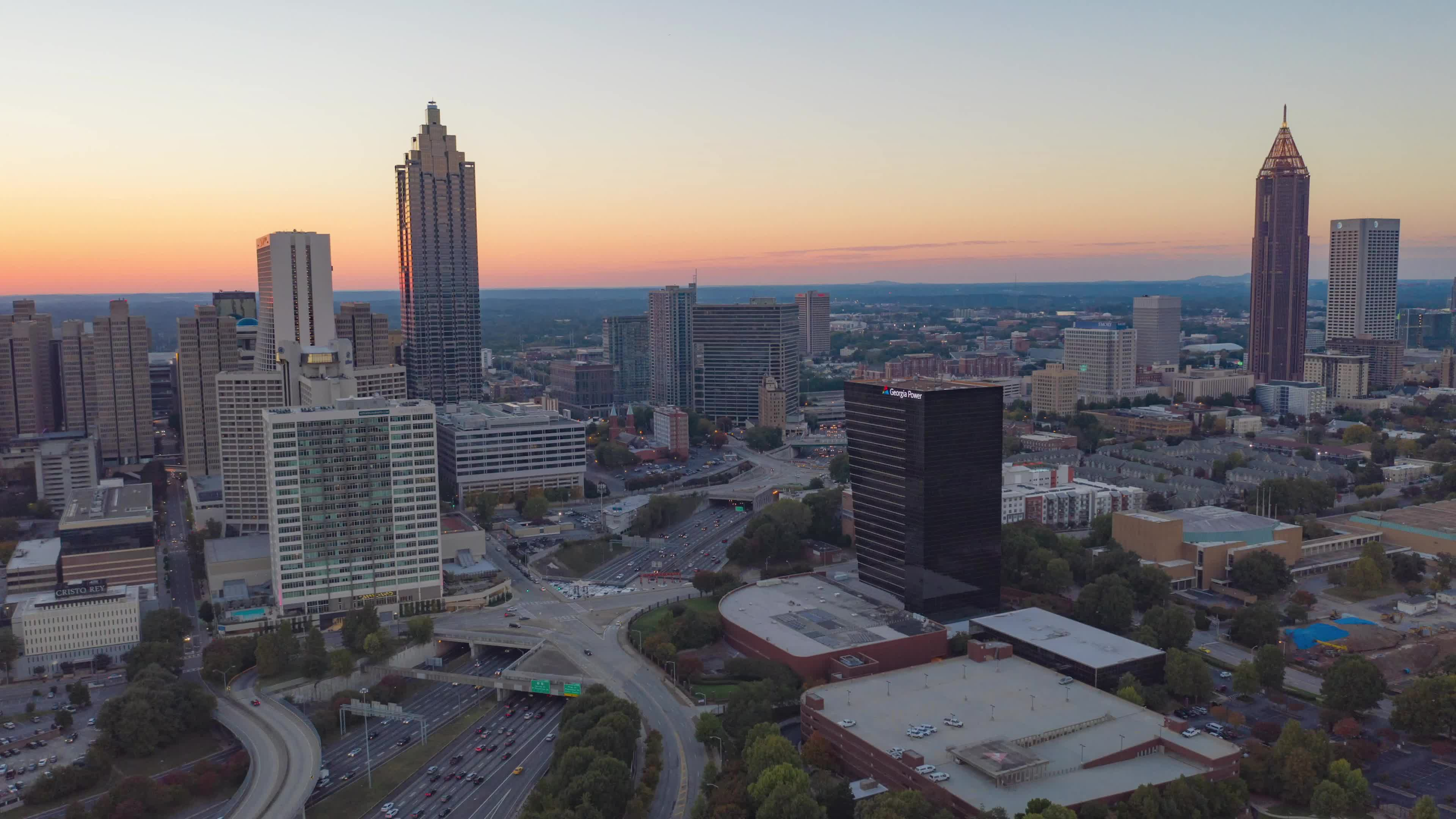 Atlanta, Hyperlapse, Mavic 2, Mavic 2 Pro, Atlanta Hyperlapse GIFs