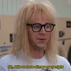 Watch and share Dana Carvey GIFs and Dinner GIFs on Gfycat