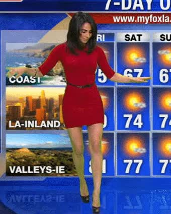 Watch weather-girl-dancing GIF on Gfycat. Discover more related GIFs on Gfycat