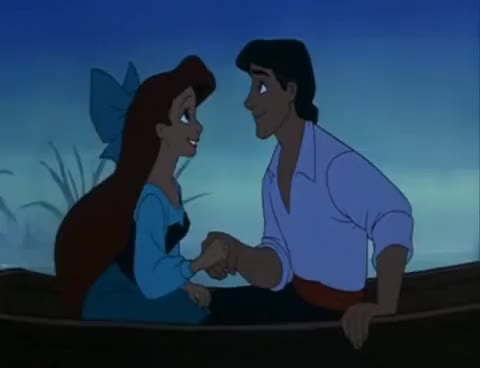 Watch ariel GIF on Gfycat. Discover more ariel, barque, kiss, la petite sirène, mermaid, prince, refoulé, water GIFs on Gfycat