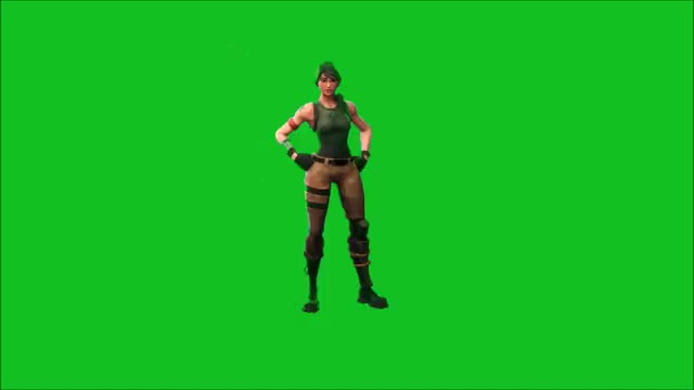 Watch and share Fondo Verde Baile Fortnite GIFs on Gfycat