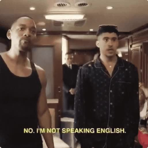 Watch and share Will Smith GIFs and Bad Bunny GIFs by rjtonamen on Gfycat