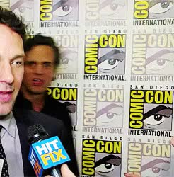 Watch this mark ruffalo GIF on Gfycat. Discover more anthony mackie, chris pine, mark ruffalo, mine, paul rudd GIFs on Gfycat