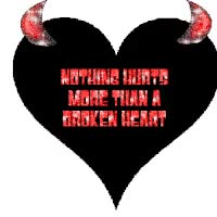 Watch and share Devil With A Broken Heart Photo: A BROKEN HEART HEART.gif GIFs on Gfycat