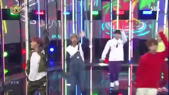 Watch 《POWERFUL》 BTS(방탄소년단) - Go Go(고민보다 Go) @인기가요 Inkigayo 20171008 GIF on Gfycat. Discover more 20171008, Jungkook, Rapmonster, bts, go, idol, ingigayo, jhope, jimin, jin, k-pop, kpop, sbs, suga GIFs on Gfycat