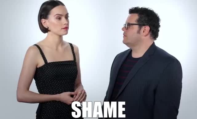 Watch and share Daisy Ridley GIFs and Josh Gad GIFs by GIF Machine on Gfycat
