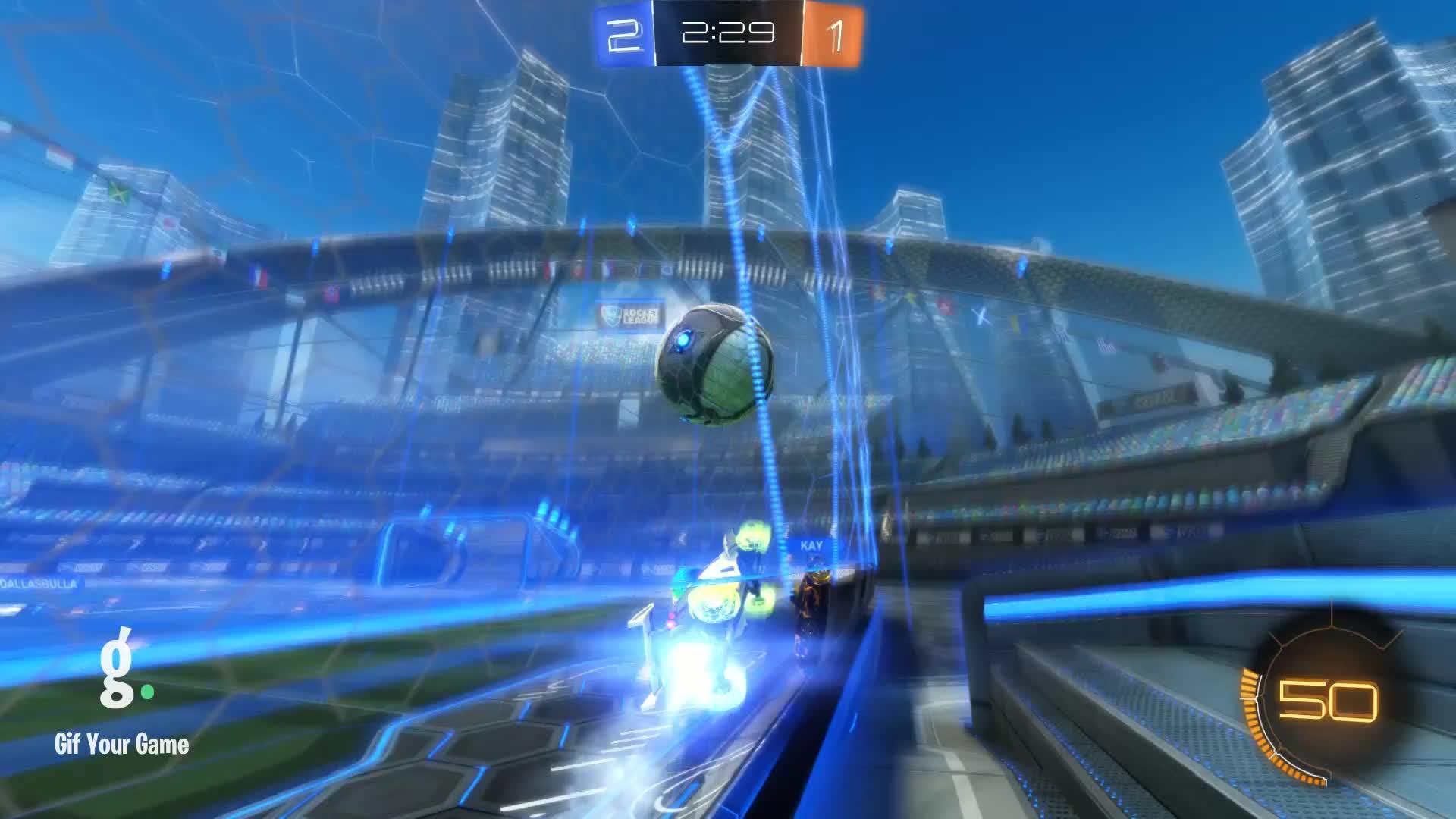 Gif Your Game, GifYourGame, Goal, Rocket League, RocketLeague, ninjaboby, ⏱️ Goal 4: Zephyr GIFs