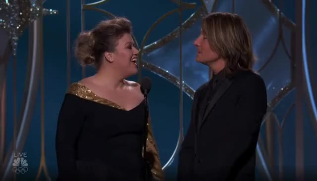 Watch this golden globes GIF by GIF Reactions (@visualecho) on Gfycat. Discover more Golden Globes, GoldenGlobes, Keith Urban, Kelly Clarkson GIFs on Gfycat