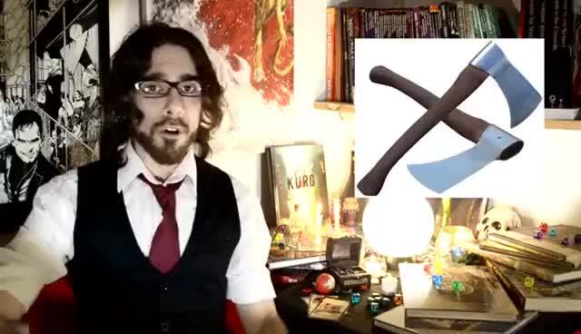 Como manejar armas en D&D
