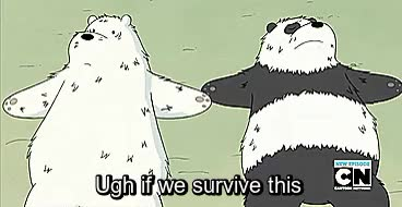 Watch I sometimes fear for panda GIF on Gfycat. Discover more gif, gifset, panda, primal, spoilers, wbb, we bare bears GIFs on Gfycat