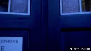 Watch and share Tardis Doors Open Green Screen (without Rain) GIFs on Gfycat
