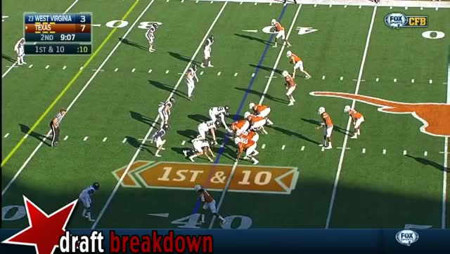 Watch and share Karl Joseph (West Virginia SAF) Vs Texas 2014 GIFs by sio-kedelic on Gfycat