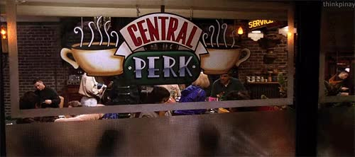 Watch central perk GIF on Gfycat. Discover more related GIFs on Gfycat