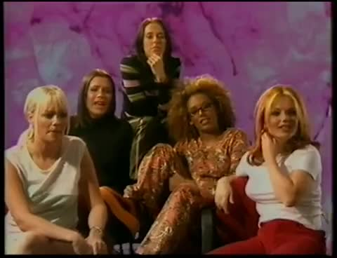 beckham, emma, geri, girls, melb, melc, spice, victoria, victoria beckham, interview 97 GIFs