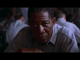 Watch and share Morgan Freeman Leaves Table With Food GIFs on Gfycat