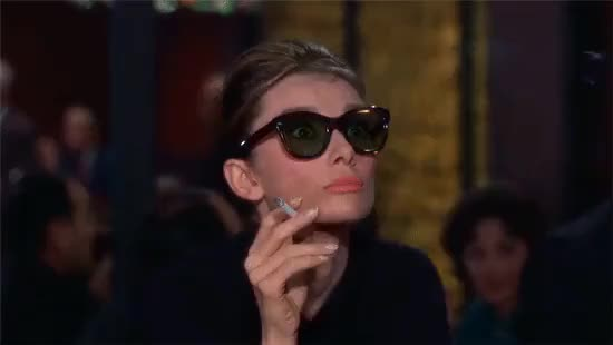 Watch this breakfast at tiffanys GIF by Alaska (@alaska) on Gfycat. Discover more Audrey Hepburn, Breakfast at Tiffany's, audrey hepburn, breakfast at tiffany's, breakfast at tiffanys GIFs on Gfycat