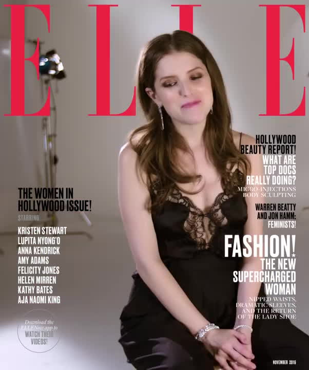 annakendrick, popular, Anna Kendrick - Elle Magazine Interview 2016 GIFs