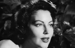 Watch Ava Lavinia Gardner(24 December 1922- 25 January 1990)[on wh GIF on Gfycat. Discover more ava gardner, gif:ava gardner, gregory peck, lena horne, mogambo, on the beach, pandora and the flying dutchman, rip bb, the barefoot contessa, the bribe, the killers, to make up for years of missed birthday sets GIFs on Gfycat