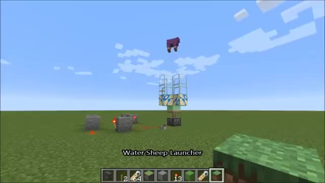 Watch and share Water Sheep GIFs on Gfycat