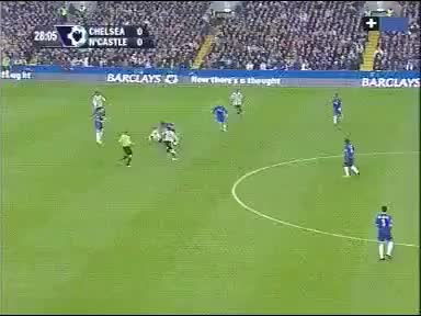 Watch and share Scott Parker's Tackle On Joe Cole GIFs on Gfycat