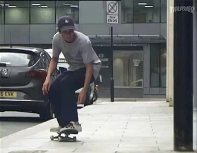 Smooth skateboarding skills GIFs