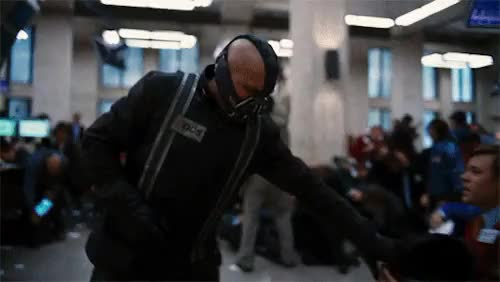 Watch and share The Dark Knight Rises GIFs and Tom Hardy GIFs on Gfycat
