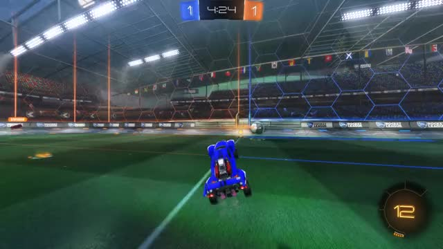Watch Goal 3: Nevaeh. GIF by Gif Your Game (@gifyourgame) on Gfycat. Discover more Gif Your Game, GifYourGame, Goal, Nevaeh., Rocket League, RocketLeague GIFs on Gfycat
