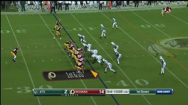 Watch and share Keith Marshall Outside Zone, Bang GIFs by Cover 1 on Gfycat