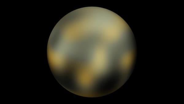 SpaceGifs, spacegifs, Pluto Rotating (reddit) GIFs