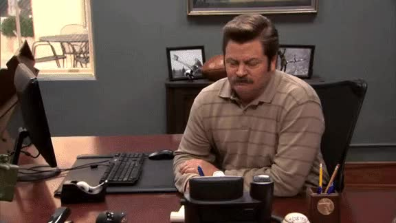 Watch family meeting GIF on Gfycat. Discover more nick offerman GIFs on Gfycat