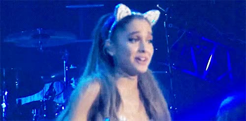 Watch and share Ariana Grande GIFs by Reactions on Gfycat