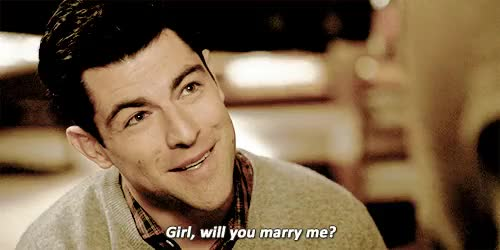 Watch this marry me GIF on Gfycat. Discover more JUST LEAVING THIS HERE, OKAY??? OKAY, cece parekh, gif, just leaving this here, marry me, new girl, okay??? okay, proposal, propose, schmece, schmidt, will you marry me GIFs on Gfycat