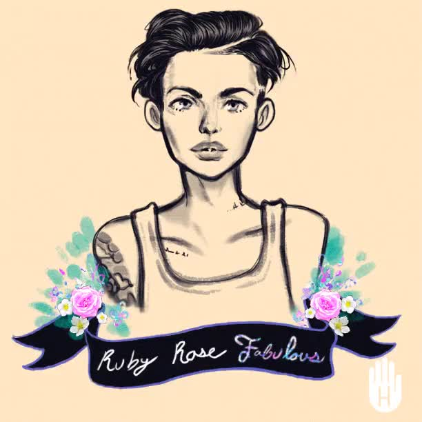 Watch and share Ruby Rose GIFs on Gfycat