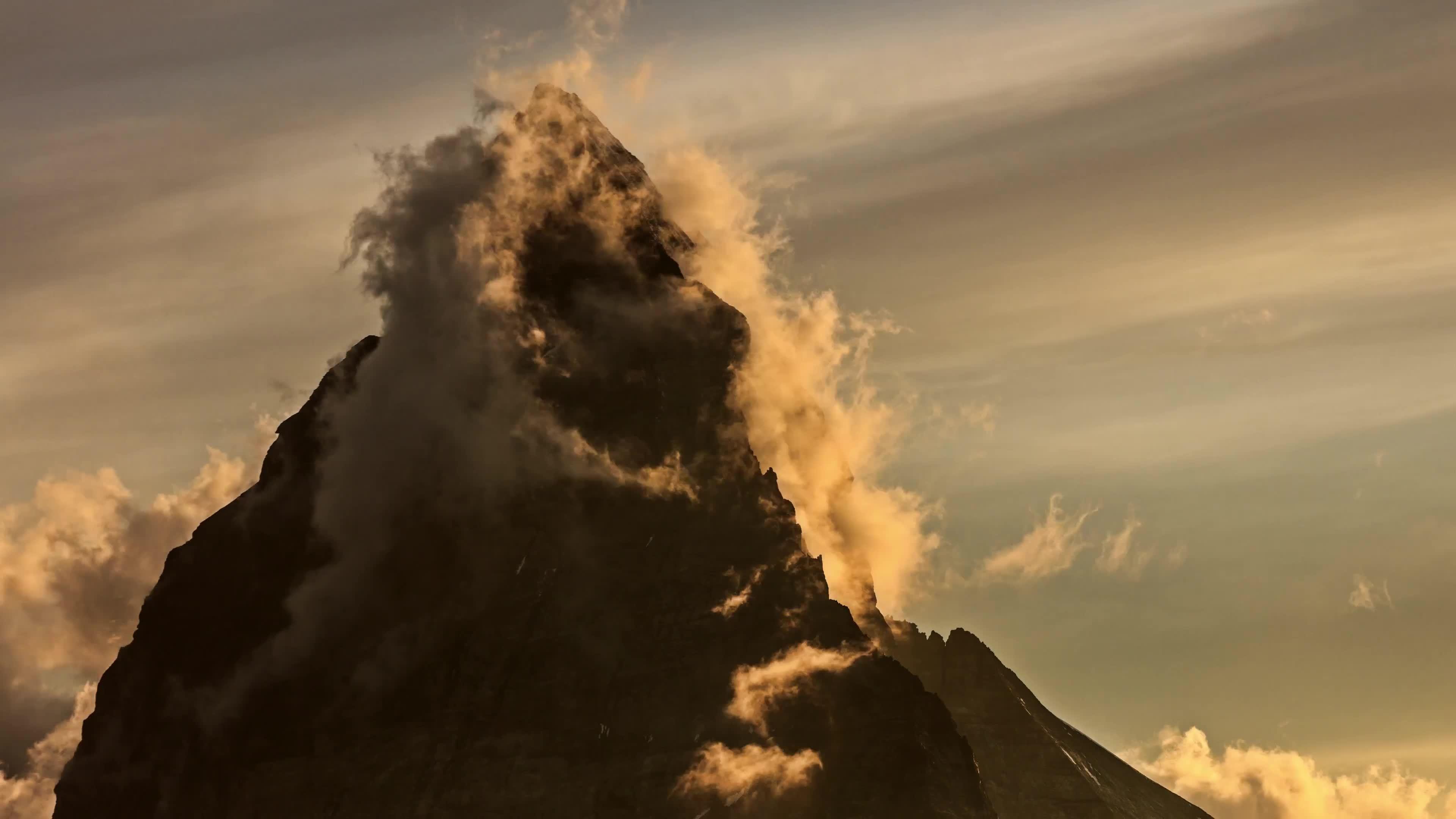 earthgifs, weathergifs, woahdude, Switzerland 4K | Timelapse GIFs