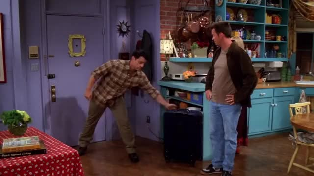 Watch this let's leave GIF on Gfycat. Discover more bye, chandler, comedy, drama, english, fhd, friends, friendship, hd, hug, job, kissing, leaving, love, monica, new, tulsa, watch, without, you GIFs on Gfycat